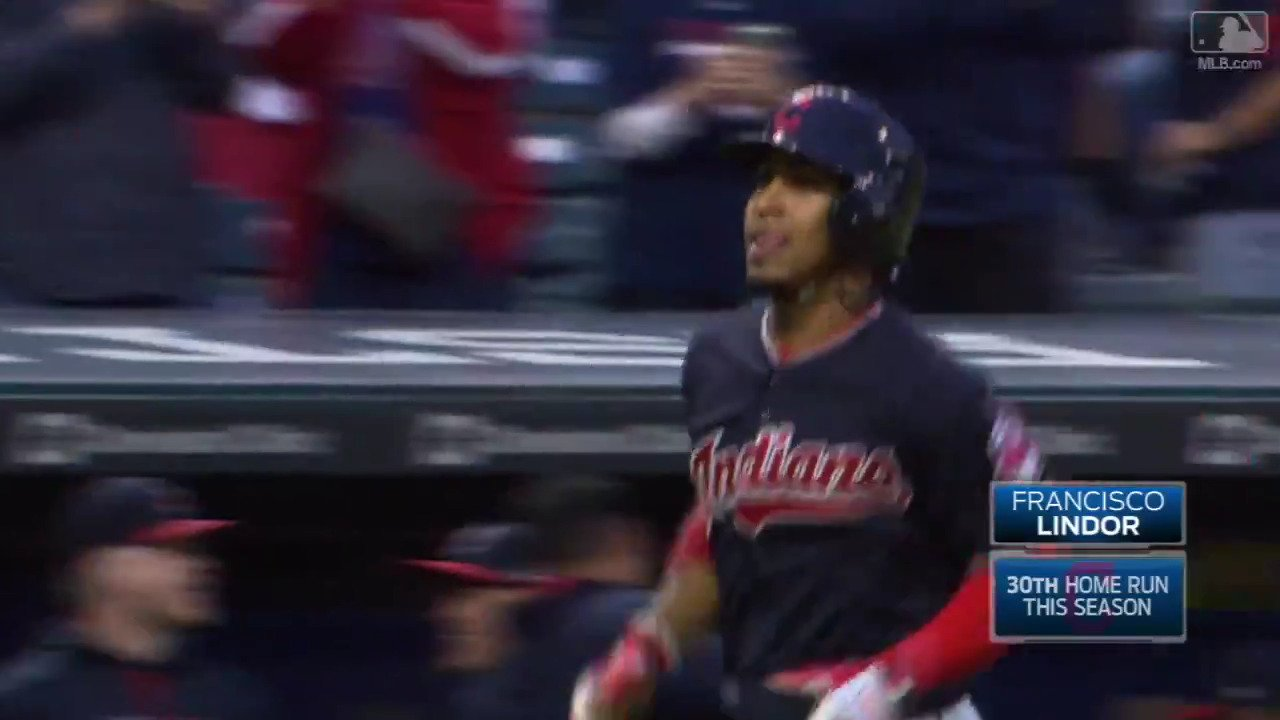 The @Indians want win number 20.  @Lindor12BC's got HR number 30. https://t.co/MtZbeZWMfI