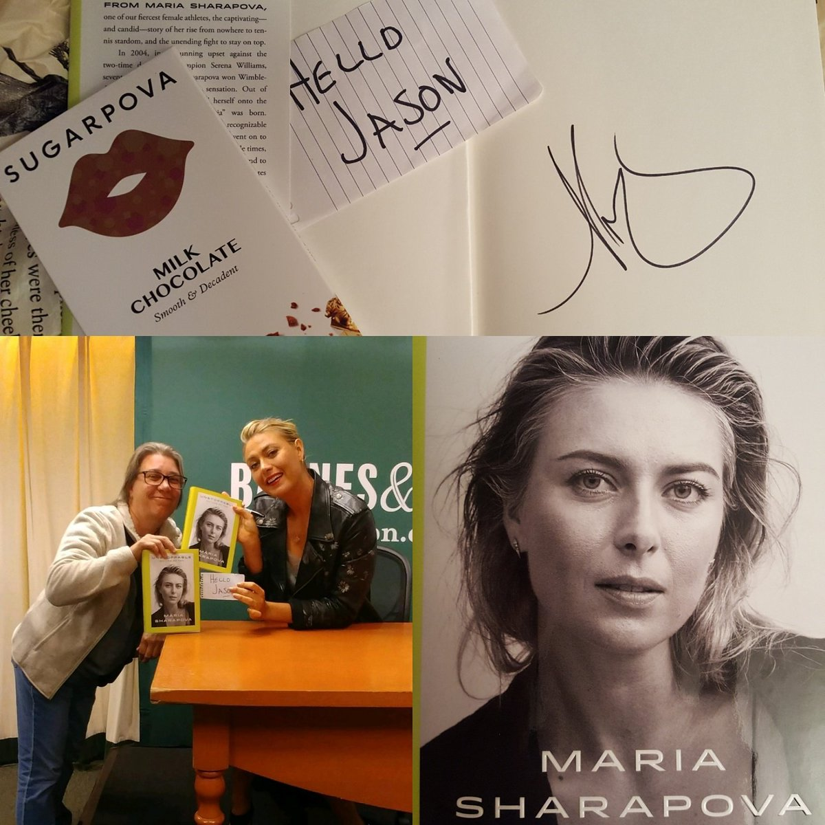 RT @yack2783: Because I have the most awesome aunt ever!!!  Thanks for being just as awesome @MariaSharapova https://t.co/5jL5CeXXCt