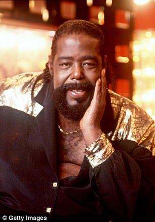 R. I. P. Barry White happy birthday may God continue to bless the family and friends