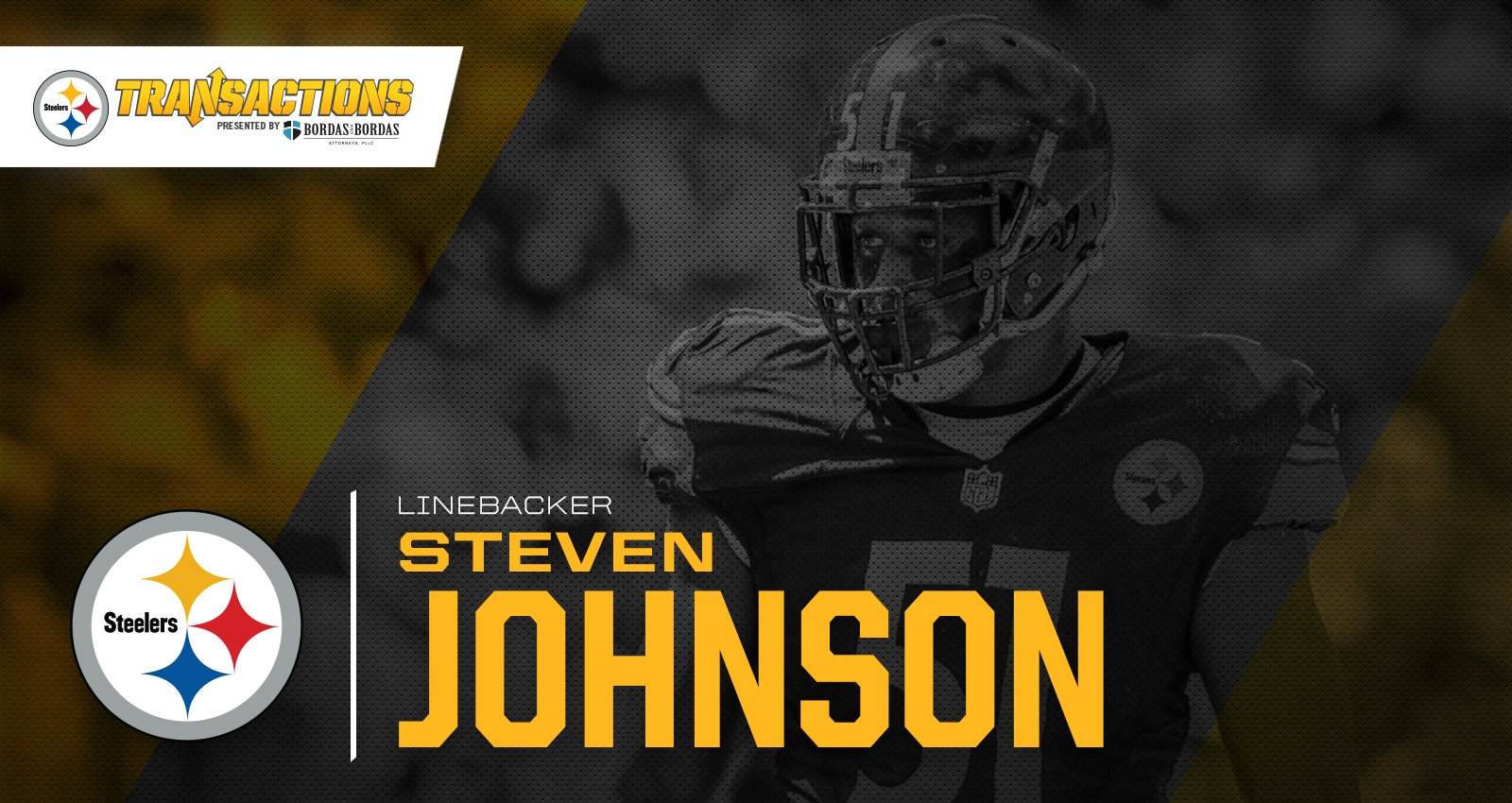 We have re-signed LB Steven Johnson, and terminated LB L.J. Fort.  MORE: https://t.co/QqqgnwRQZj https://t.co/CO4YaX1wge