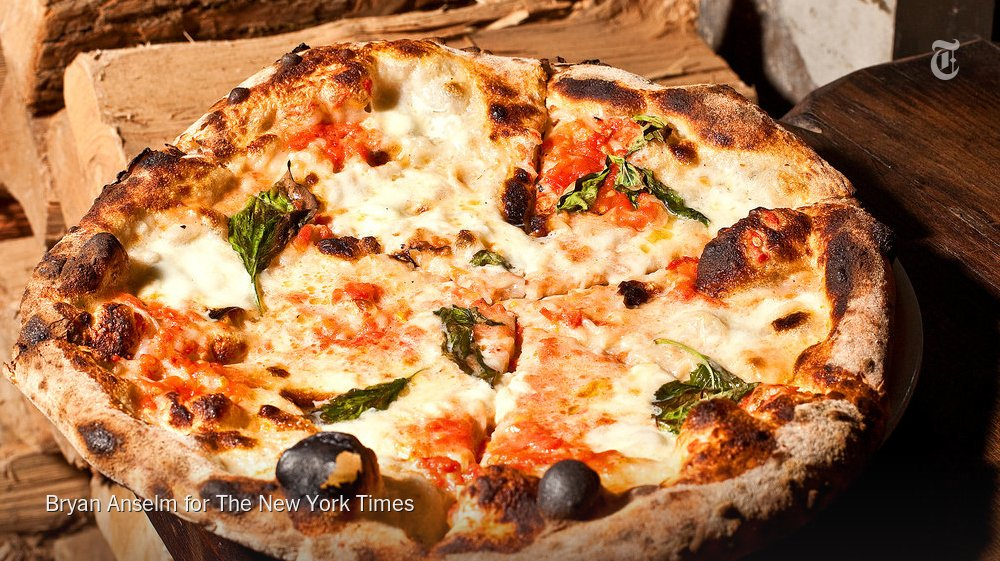 Is New York's best pizza in New Jersey? Yes it is, says @Pete_Wells https://t.co/dWbahyvYMN https://t.co/EeXjQ08BlJ