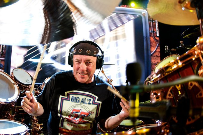 Happy 65th Birthday to the Professor, Mr. Neil Peart! Born on this day in 1952 in Hamilton, Ontario.