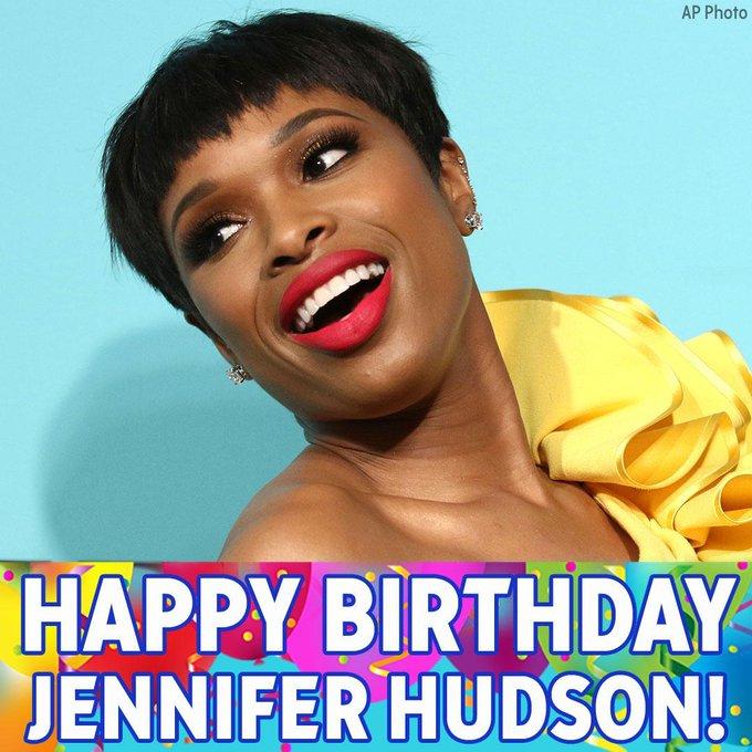 Happy Birthday to the Grammy- and Oscar-winning Jennifer Hudson!