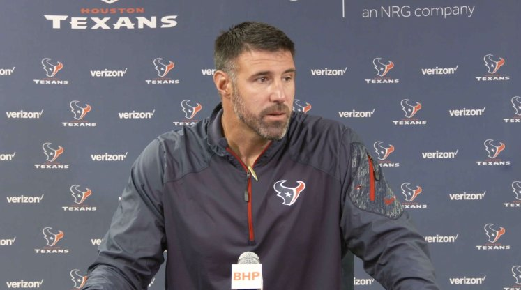 'All hands are on deck.'  Defensive coordinator Mike Vrabel talks #Texans defense.  ��: https://t.co/9W9EcGsMBx https://t.co/yyBQ2SWhLx
