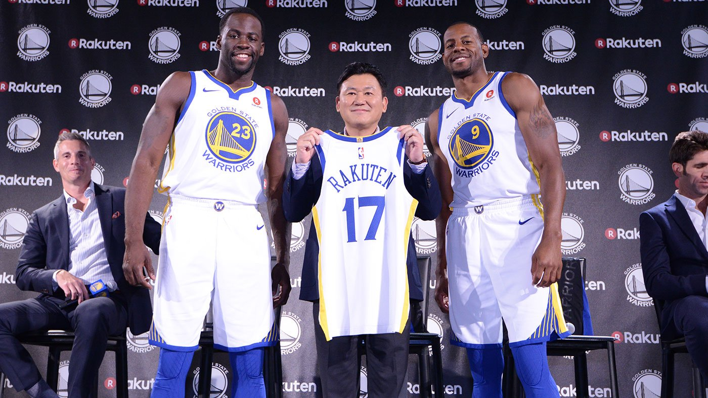 Check out some of the best �� from today's #WarriorsRakuten news conference » https://t.co/odaXdjafHf https://t.co/v8OgjtgbTq