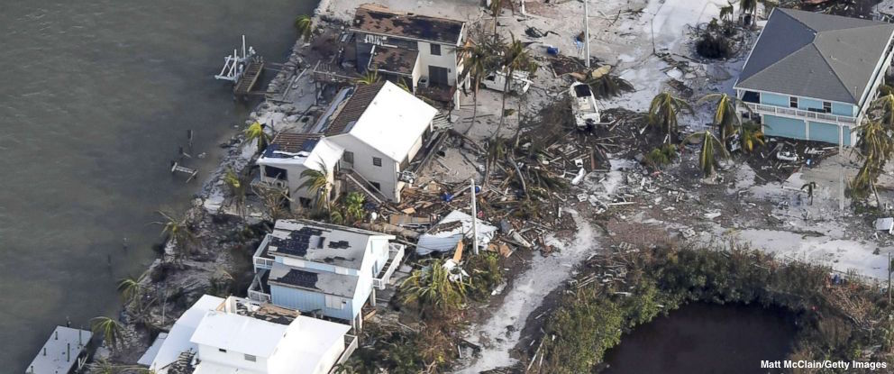 LATEST: Death toll from Hurricane Irma on mainland U.S. rises to 17