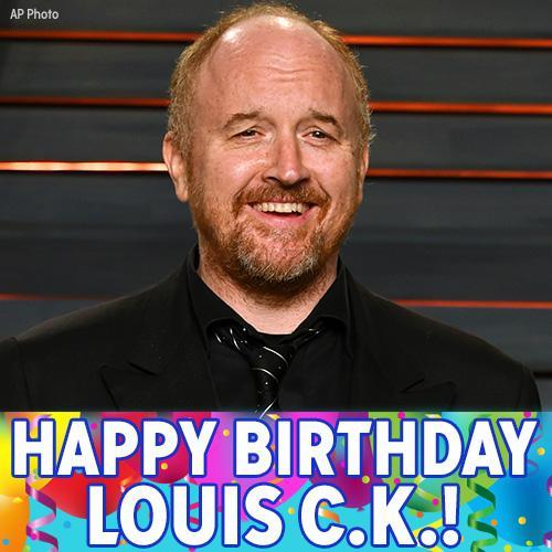 Happy 50th Birthday, Louis C.K.!