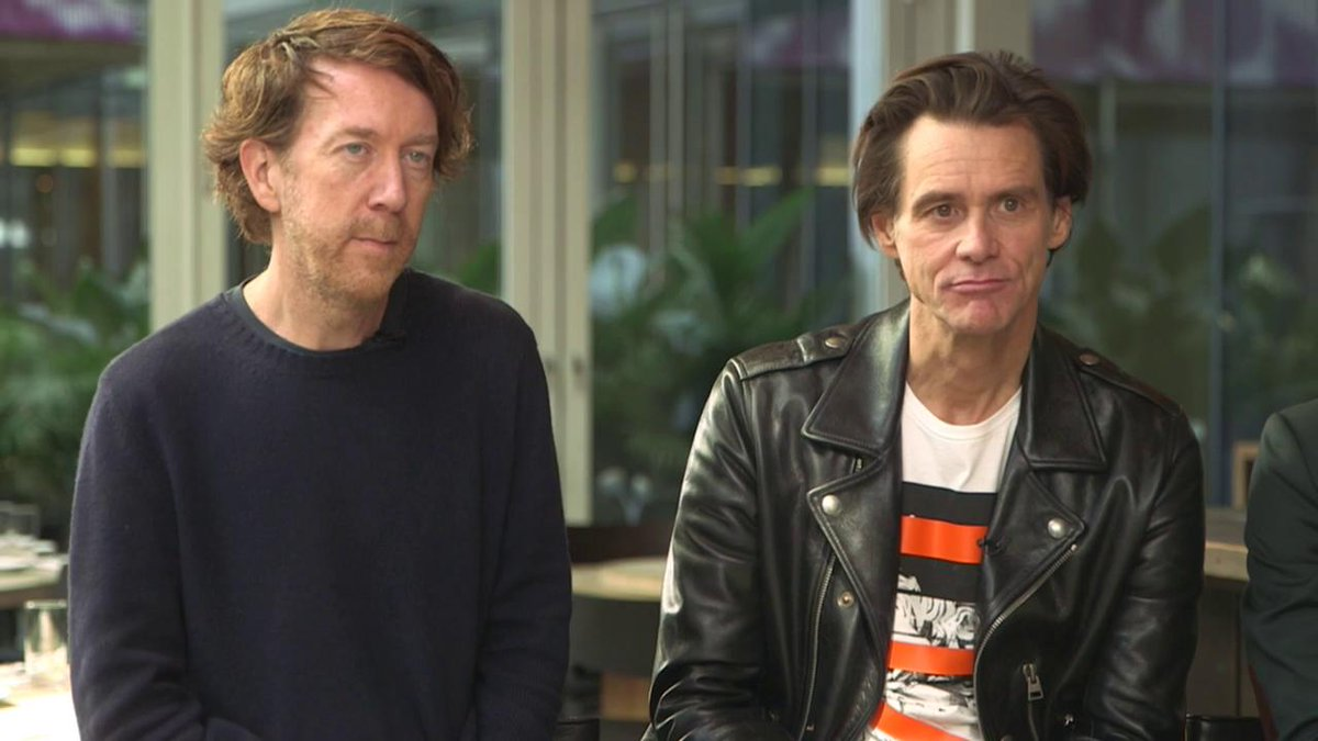 """Jim Carrey is gone. He never existed"" 
