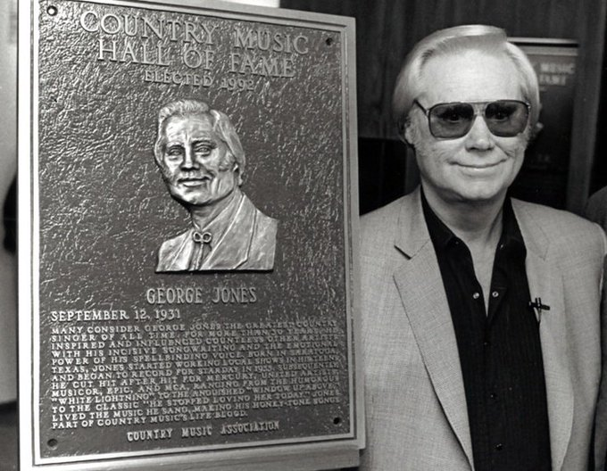 Heavenly Happy Birthday George Jones!  George Glenn Jones (September 12, 1931 April 26, 2013)