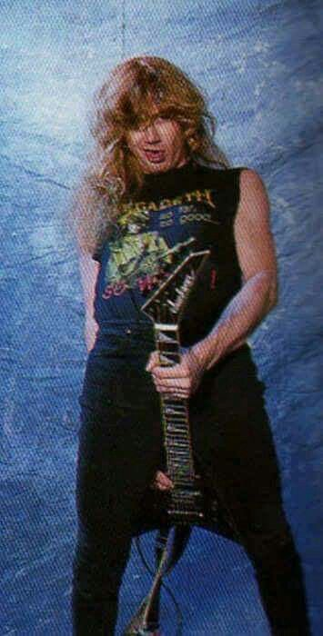 Happy Birthday To The One And Only Dave Mustaine (Megadeth)