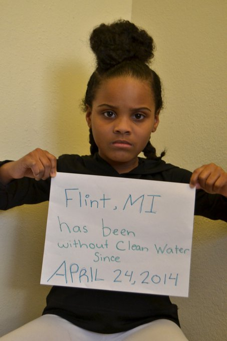 @hollymadison: RT @LittleMissFlint: In case anyone was wondering...No the #FlintWaterCrisis is not over. https://t.co/ZbCY6kJt5G