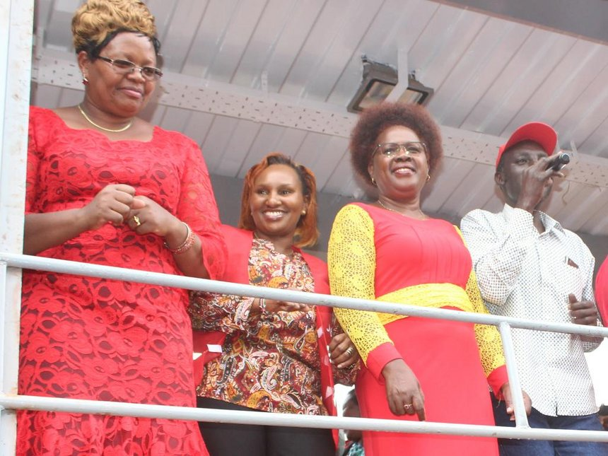 Don't vote for Raila again, JP MPs tell Murang'a locals