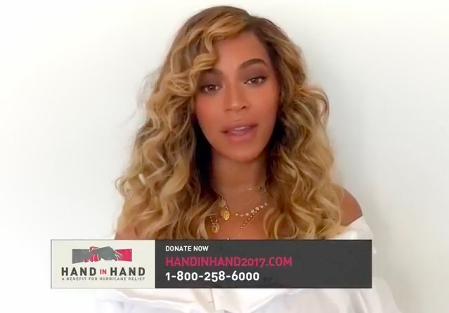 Watch @Beyonce's powerful speech during the #HandInHand telethon. https://t.co/jCQdZ0fxUc https://t.co/G0rfG0Js0K