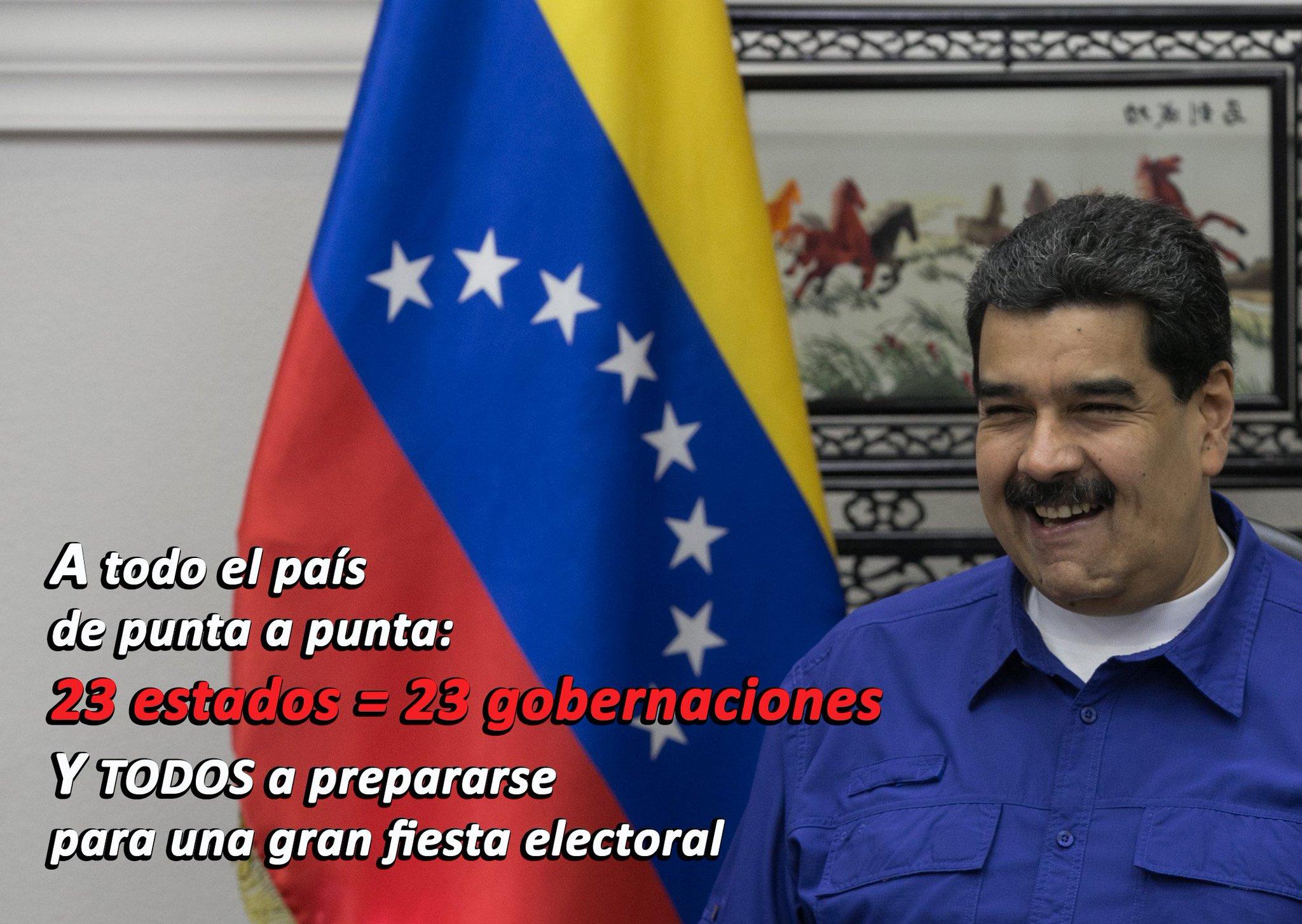 CONTUNDENTE Y PRECISO: EL LLAMADO del PRESIDENTE @NicolasMaduro a todo el pueblo para el 15 de Octubre https://t.co/AzmEgd1h4i