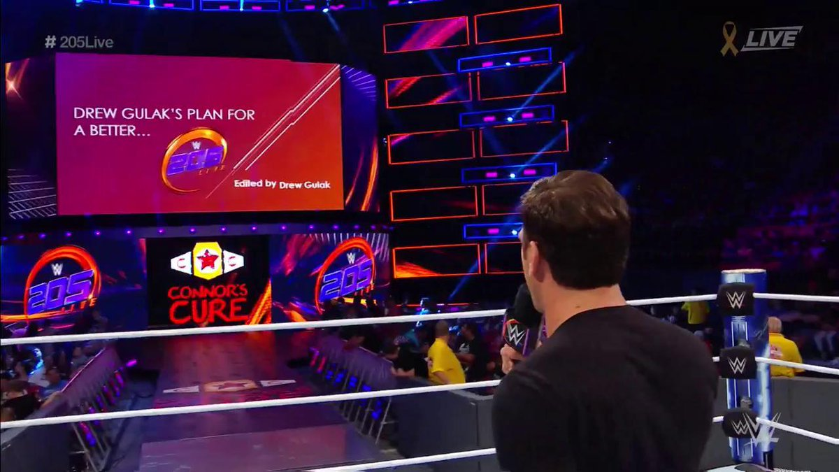 RT @WWE: You're in LUCK, @WWEUniverse! @DrewGulak will resume his PowerPoint presentation for a better #205Live! https://t.co/0nIFHgHejB