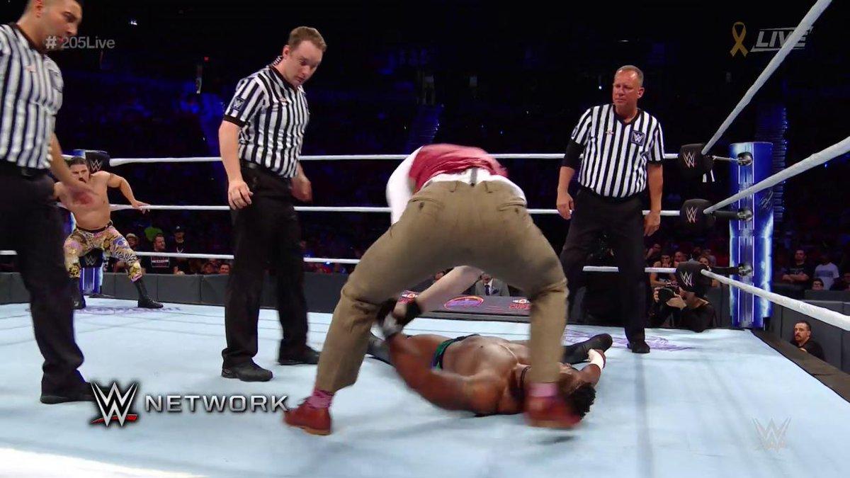 RT @WWE: WHAT has gotten into @GentlemanJackG on #205Live?! https://t.co/G5XHtMC7wO