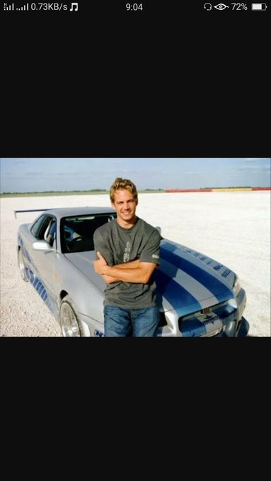 Wish late Paul Walker a happy birthday.