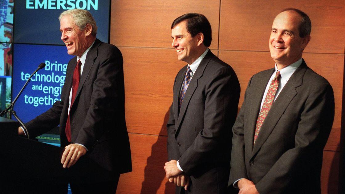 "Legendary Emerson CEO Charles ""Chuck"" Knight dies"