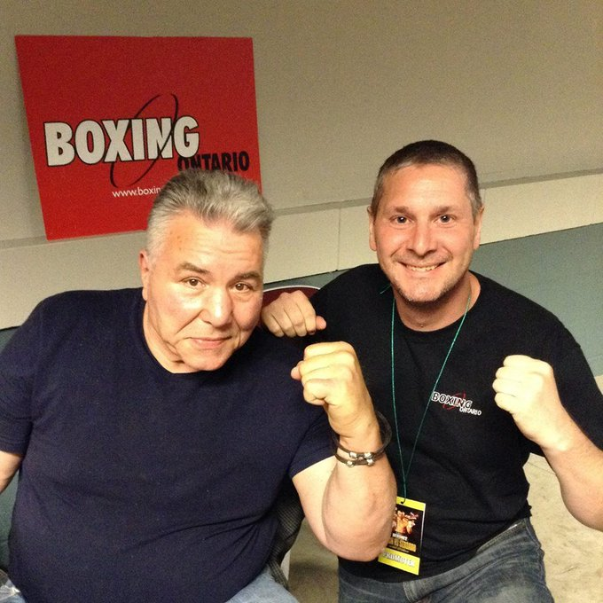 Happy 80th Birthday to George Chuvalo!
