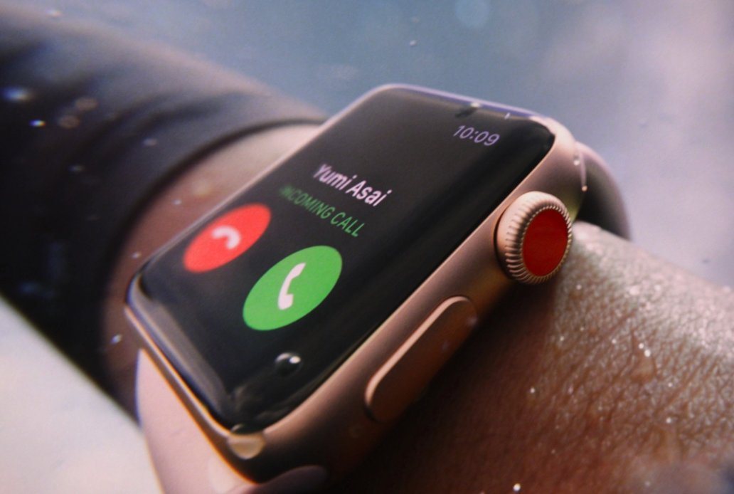 The cellular-enabled Apple Watch has the SIM built in https://t.co/gk1oZglJor #AppleEvent https://t.co/tEnUV95UXp