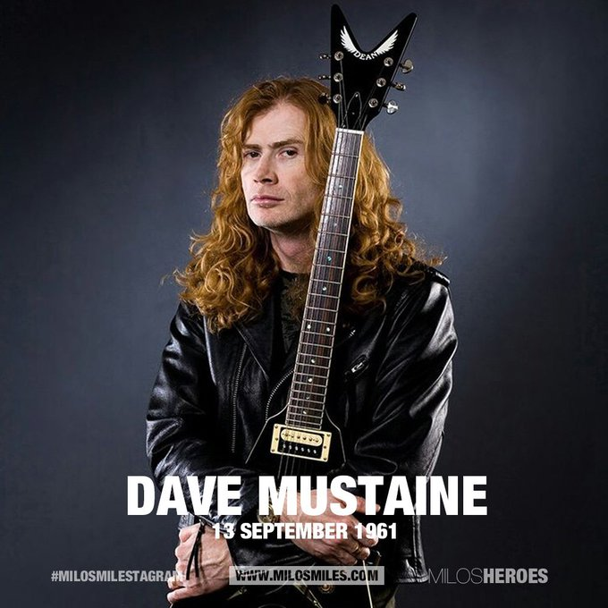 Happy Birthday Dave Mustaine - Slayer (130961)