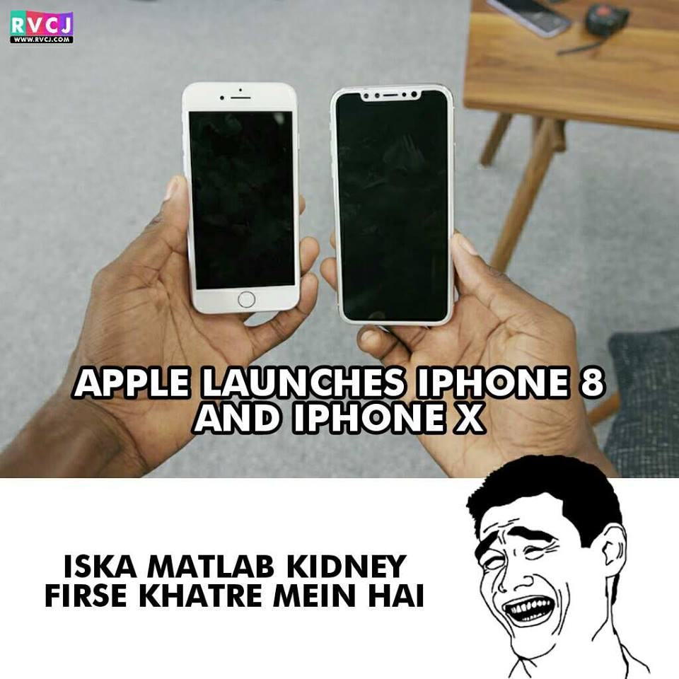 RT @RVCJ_FB: Meanwhile Kidney!😂 #iphonelaunch #iPhoneX #iPhone8 #AppleEvent https://t.co/TXXUqHy4op