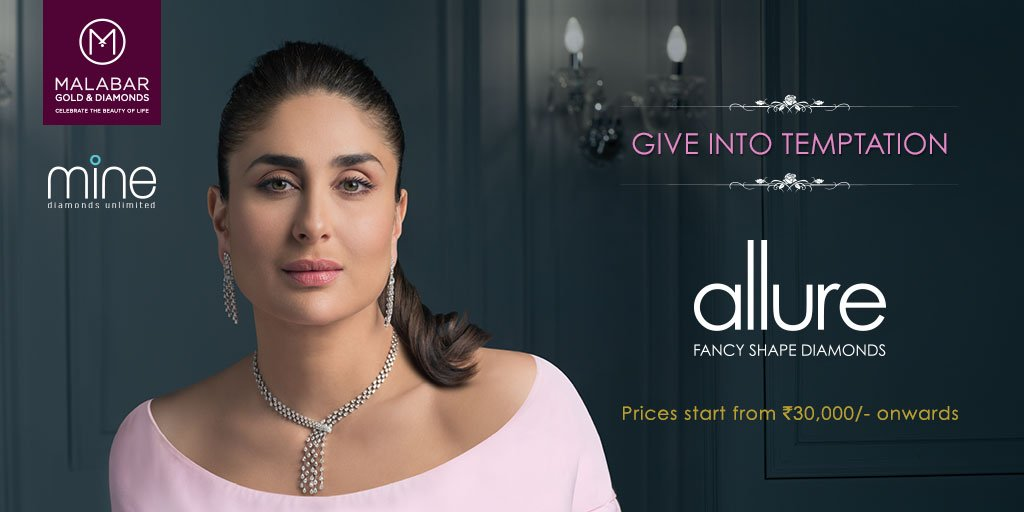 Checkout stunning Kareena Kapoor looks gorgeous in new allure collection from @Malabartweets #GiveIntoTemptation https://t.co/Vm9cUuaCCK