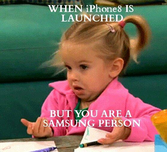 #iphonelaunch #AppleEvent #iPhoneX #iPhone8   #Samsung https://t.co/0tzxMnmy7b