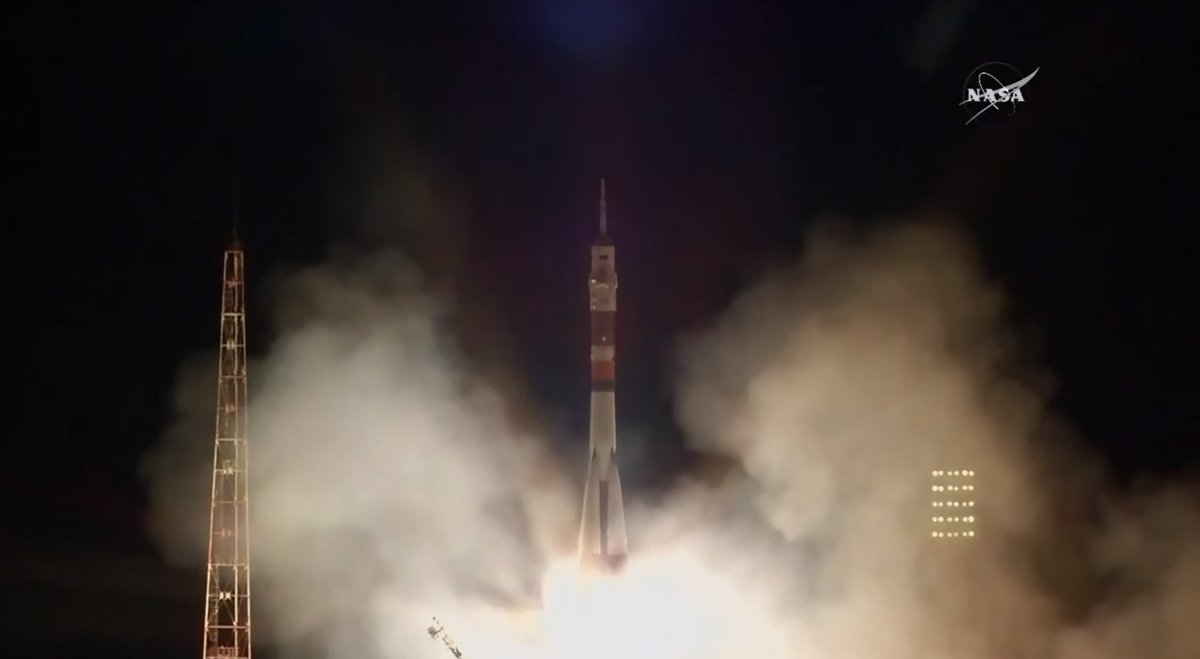 US-Russian Crew Arrives Space Station After Quick 6-Hour Trip