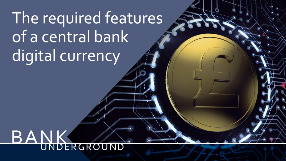 Creating a central bank #digitalcurrency: what tech do we need? https://t.co/hIiTgaefgm #BankUnderground #blockchain https://t.co/9V6uN9WXJu