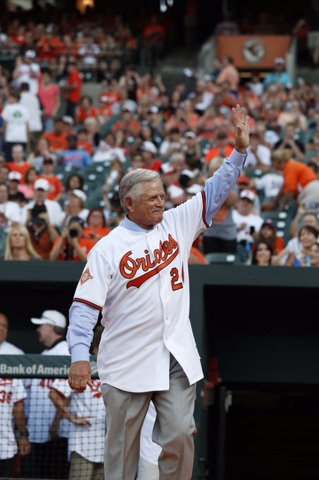 Happy 68th Birthday to O\s Hall of Famer and current MASN talent Rick Dempsey!