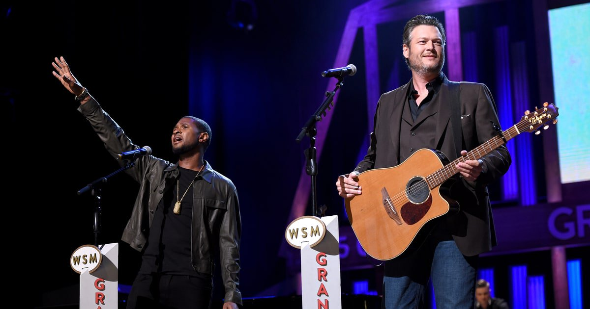 See Usher and Blake Shelton's moving 'Stand By Me' #HandInHand duet for hurricane relief https://t.co/kl8dyUBHTm https://t.co/hWpIjGaVpD