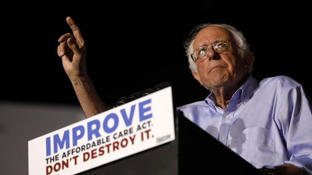"""""""Medicare for all"""" bill a vindicating moment for Sanders https://t.co/r6oswBaR6B https://t.co/8pTpgZGVTa"""