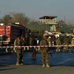 Afghanistan: Suicide bomber kills two security forces near cricket stadium; players safe