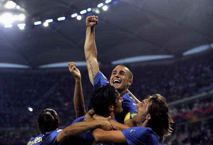 Happy birthday to Fabio Cannavaro!   The Italian legend and 2006 World Cup winner turns 44 today.