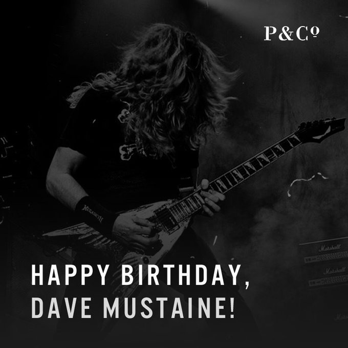Happy Birthday Dave Mustaine!