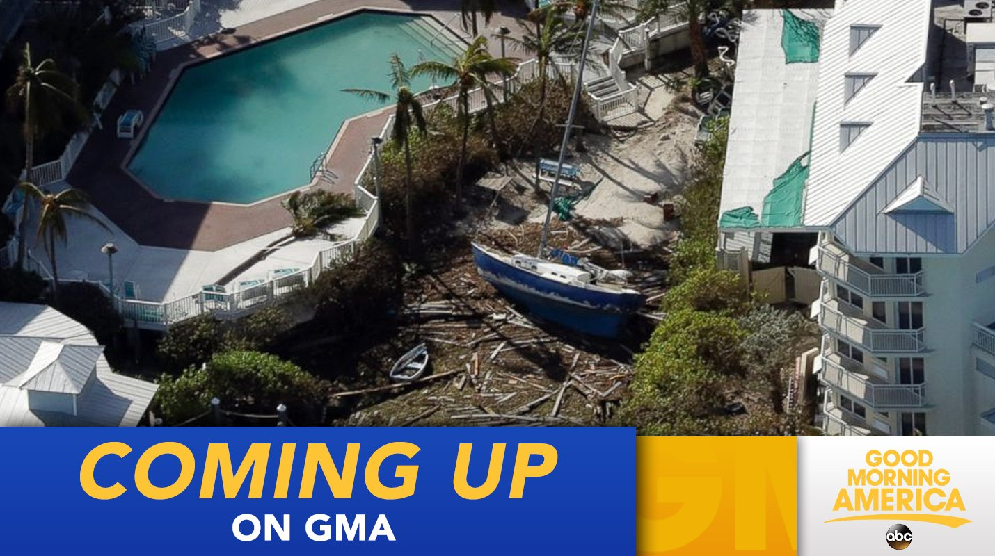 COMING UP ON @GMA: 90 percent of homes in Florida Keys damaged by Hurricane Irma https://t.co/oSCfBnj9WB