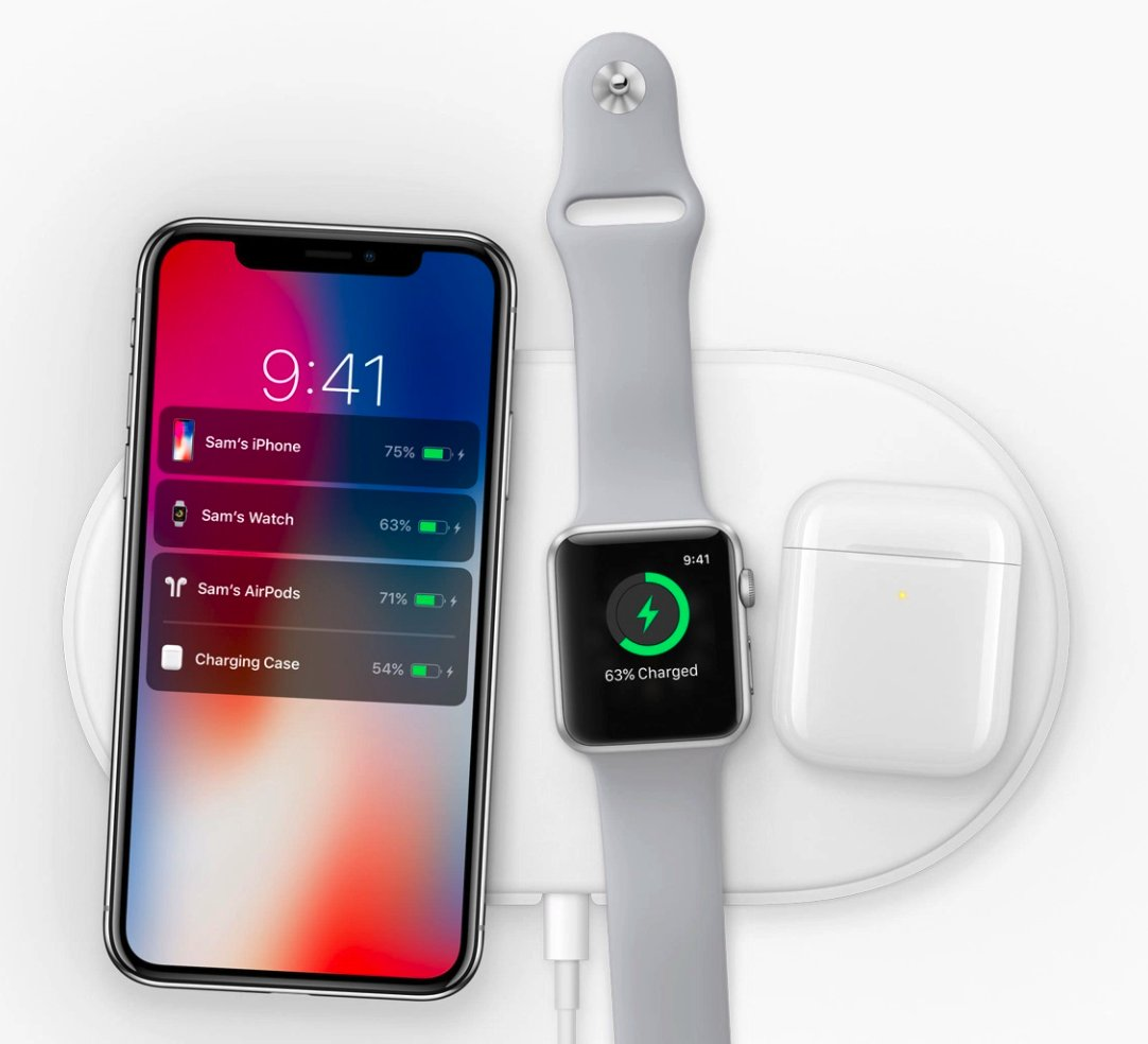 Apple reveals AirPower wireless charging pad coming in 2018 https://t.co/MW0MbtJYIx #AppleEvent https://t.co/xg4NmjjHHh