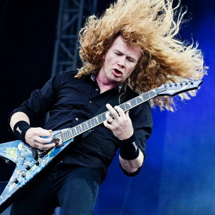 Happy Birthday, Dave Mustaine (56)!