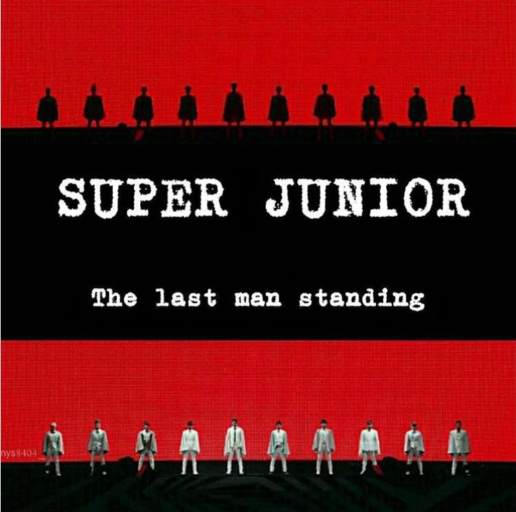 The last man standing �� #superjunior https://t.co/kKbOg59bWH