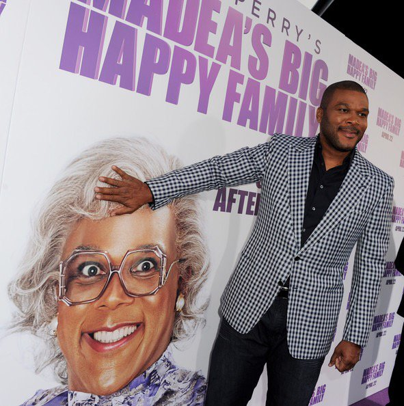 Happy Birthday Tyler Perry Creator of MADEA other films, characters, TV shows, Theater shows, Tyler Perry Studios