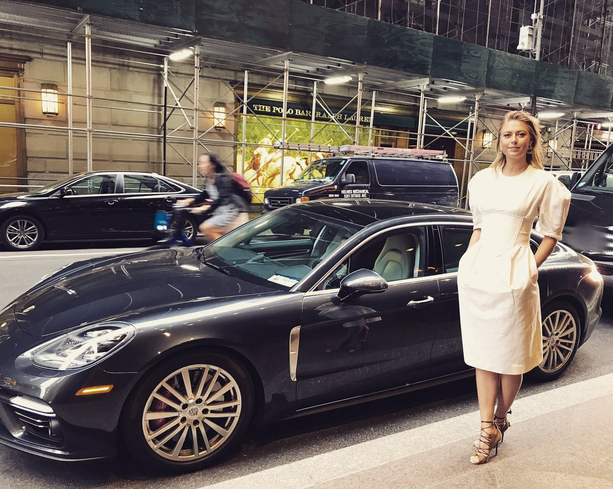 Thanks to my friends at #porsche for getting me around New York for my #Unstoppable book tour! @PorscheNewsroom https://t.co/a0b5bdU8ph