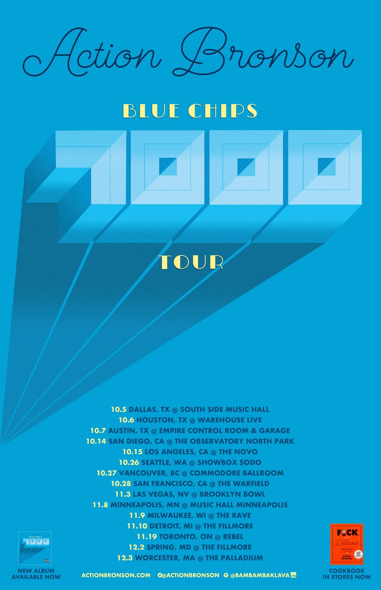 BLUE CHIPS 7000 TOUR PART 1!!!! LET ME KNOW WHAT CITIES I NEED TO COME TO. https://t.co/iz93ip3nuf