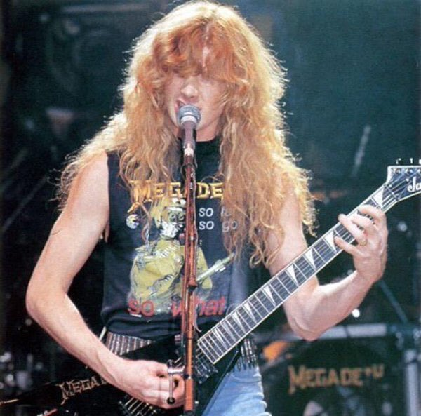 Happy 56th Birthday to legendary guitarist Dave Mustaine!