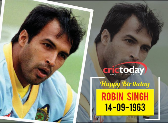 Happy Birthday Robin Singh