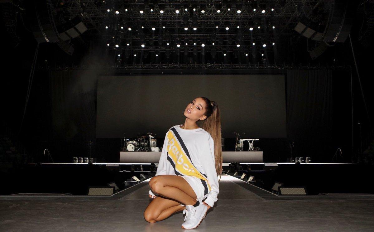 #ArianaxReebok