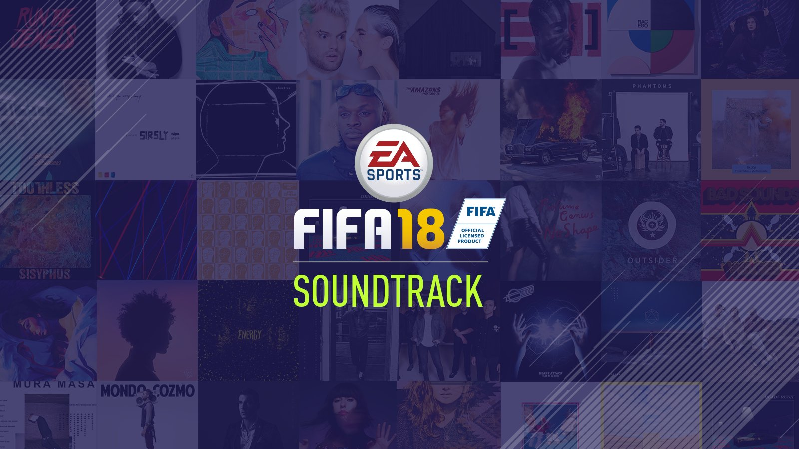 Get ready to hear your new favourite tune...  Listen to the FIFA 18 Soundtrack now!  https://t.co/poUAXTofmw https://t.co/17eoZ0Xly3