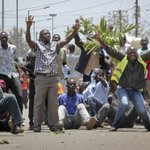 Riots in Kenya after rumour about alleged efforts to rig upcoming election