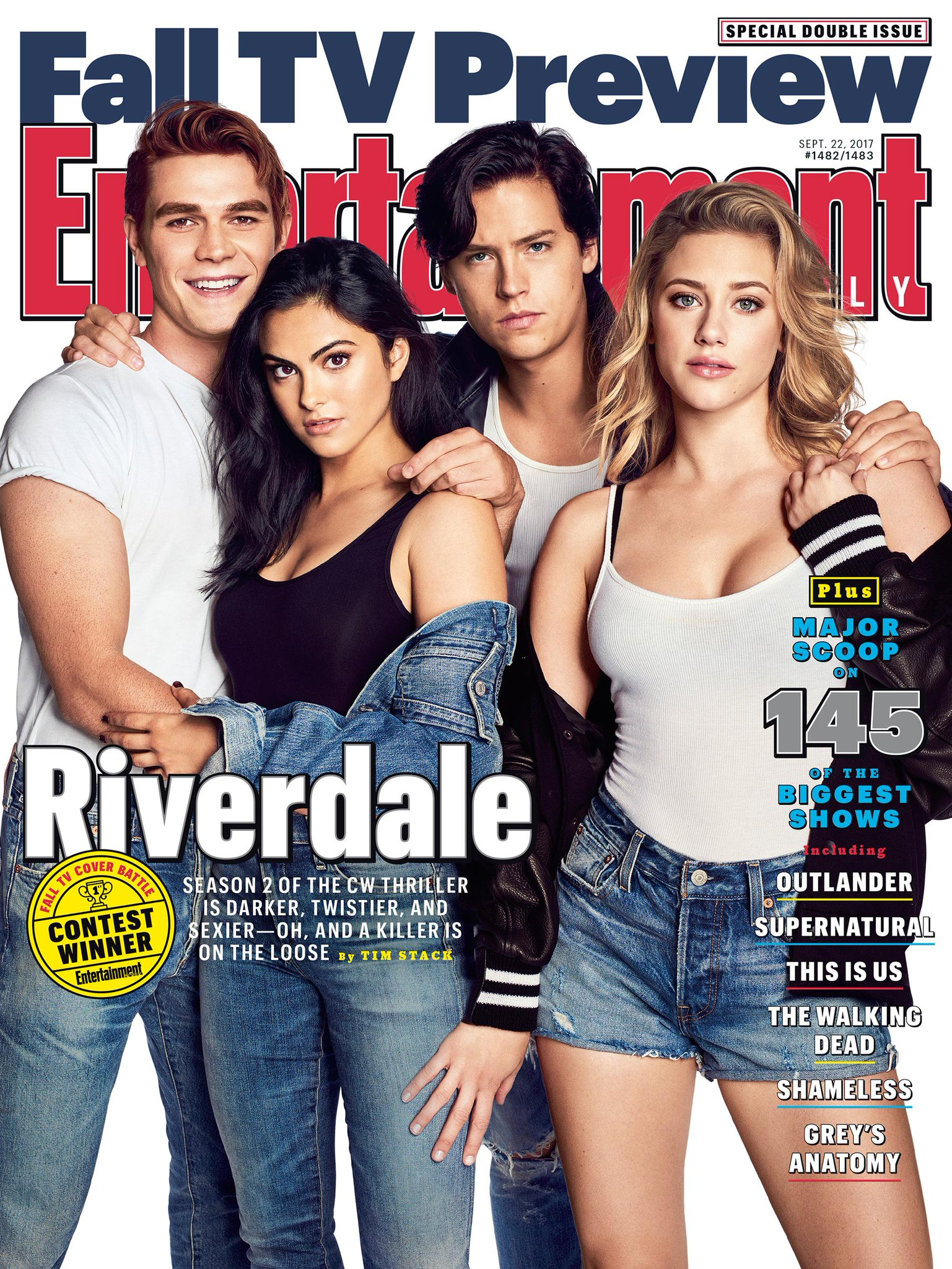 The #Riverdale gang is BACK! Get all the details on season 2 in our Fall TV Preview: https://t.co/yHLi5nI74m �� https://t.co/gNjWVKle6O