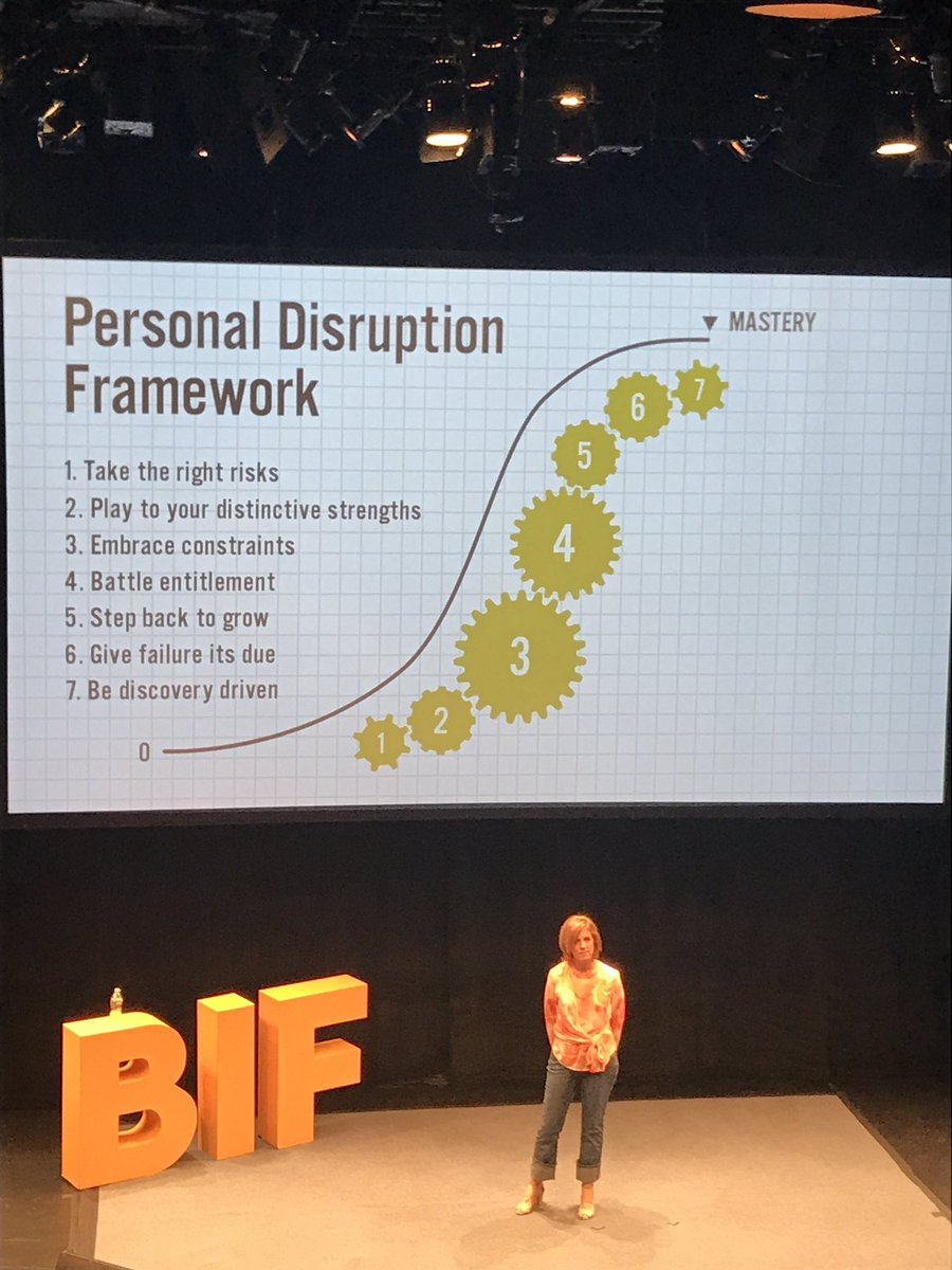 RT @taniosb: Don't get caught up in your own prior successes. Battle your own entitlement. @johnsonwhitney #BIF2017 https://t.co/ufRYAfpM0t